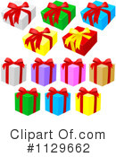 Royalty-Free (RF) Gift Clipart Illustration #1129662