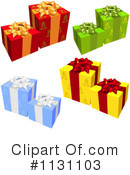 Royalty-Free (RF) Gift Clipart Illustration #1131103