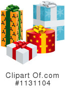 Royalty-Free (RF) Gift Clipart Illustration #1131104