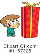 Royalty-Free (RF) Gift Clipart Illustration #1157325