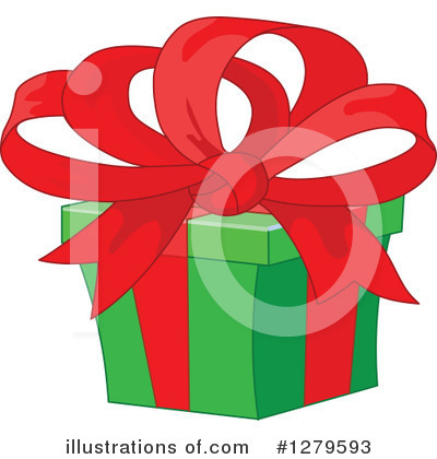 Royalty-Free (RF) Gift Clipart Illustration by Pushkin - Stock Sample #1279593