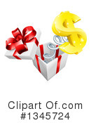 Gift Clipart #1345724 by AtStockIllustration