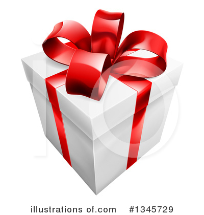 Royalty-Free (RF) Gift Clipart Illustration by AtStockIllustration - Stock Sample #1345729