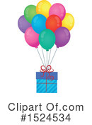 Royalty-Free (RF) Gift Clipart Illustration #1524534