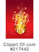 Royalty-Free (RF) Gift Clipart Illustration #217442