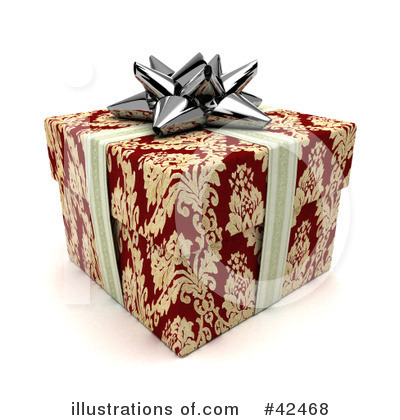 Presents Clipart #42468 by stockillustrations