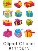 Gifts Clipart #1115219 by Graphics RF