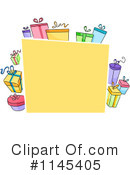 Royalty-Free (RF) Gifts Clipart Illustration #1145405