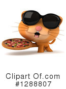 Ginger Cat Clipart #1288807 by Julos