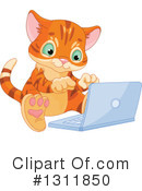 Ginger Cat Clipart #1311850 by Pushkin