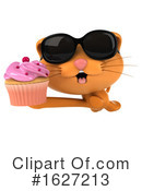 Ginger Cat Clipart #1627213 by Julos