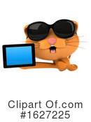 Ginger Cat Clipart #1627225 by Julos