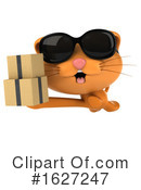 Ginger Cat Clipart #1627247 by Julos