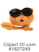 Ginger Cat Clipart #1627249 by Julos