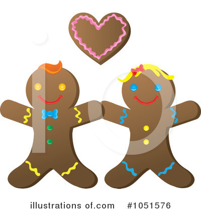 Couple Clipart #1051576 by Rosie Piter