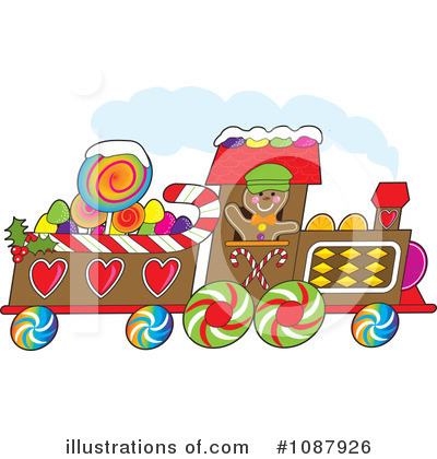 Gingerbread Clipart #1087926 by Maria Bell