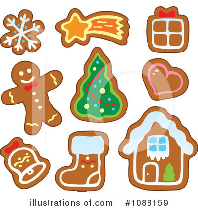 Gingerbread Man Clipart #1088159 by visekart