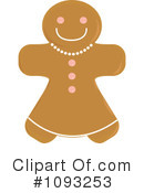 Gingerbread Clipart #1093253