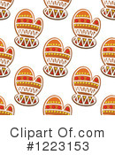 Royalty-Free (RF) Gingerbread Clipart Illustration #1223153