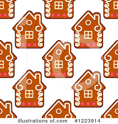 Gingerbread Cookie Clipart #1223914 by Vector Tradition SM