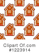Royalty-Free (RF) Gingerbread Clipart Illustration #1223914