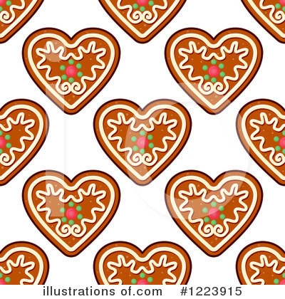 Gingerbread Cookie Clipart #1223915 by Vector Tradition SM