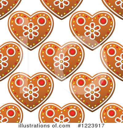 Gingerbread Clipart #1223917 by Vector Tradition SM