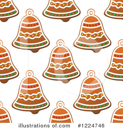 Gingerbread Clipart #1224746 by Vector Tradition SM