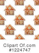 Royalty-Free (RF) Gingerbread Clipart Illustration #1224747