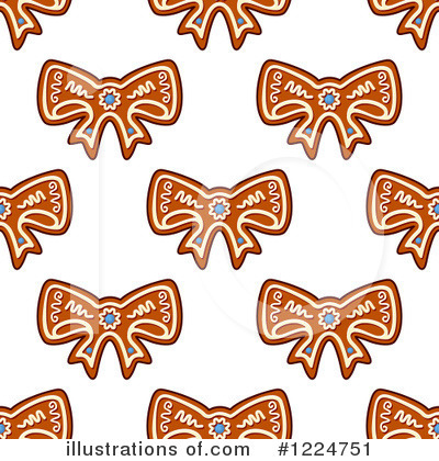 Gingerbread Clipart #1224751 by Vector Tradition SM