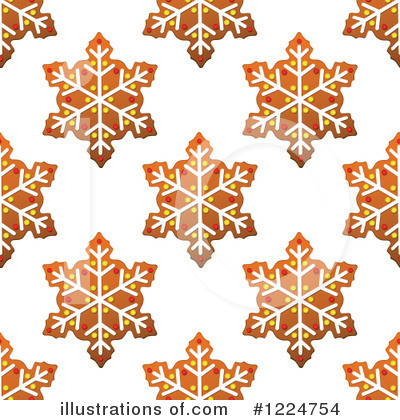 Gingerbread Clipart #1224754 by Vector Tradition SM