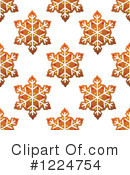 Royalty-Free (RF) Gingerbread Clipart Illustration #1224754