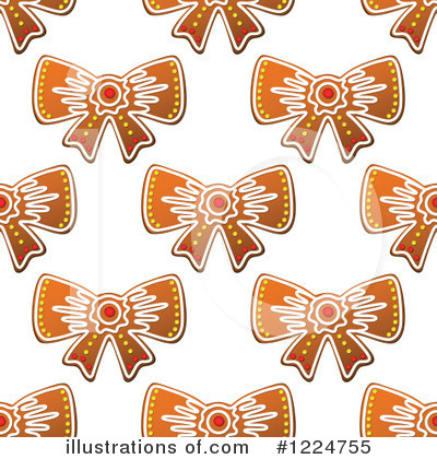 Gingerbread Clipart #1224755 by Vector Tradition SM