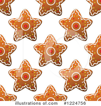 Gingerbread Clipart #1224756 by Vector Tradition SM