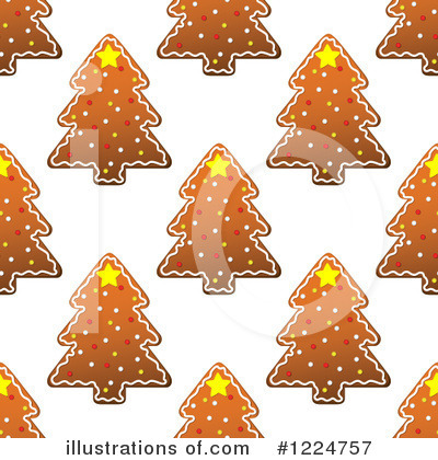 Gingerbread Clipart #1224757 by Vector Tradition SM