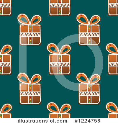 Gingerbread Clipart #1224758 by Vector Tradition SM
