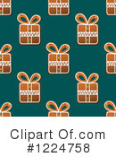 Royalty-Free (RF) Gingerbread Clipart Illustration #1224758