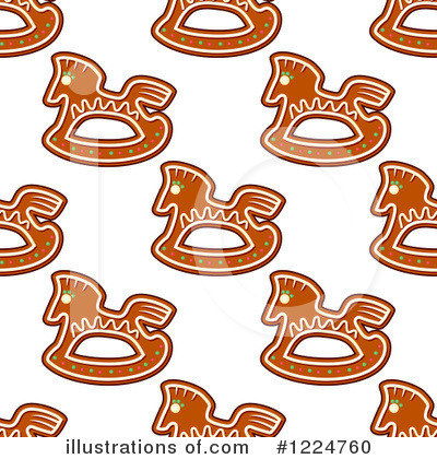 Gingerbread Cookie Clipart #1224760 by Vector Tradition SM