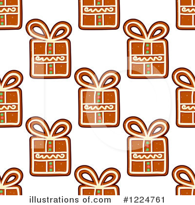 Gingerbread Clipart #1224761 by Vector Tradition SM