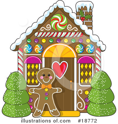 Gingerbread Man Clipart #18772 by Maria Bell
