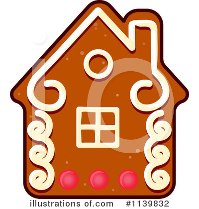 Gingerbread Clipart #1139832 by Vector Tradition SM