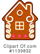 Royalty-Free (RF) Gingerbread Cookie Clipart Illustration #1139832