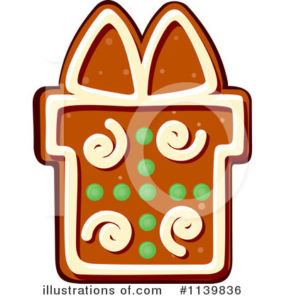 Gingerbread Clipart #1139836 by Vector Tradition SM