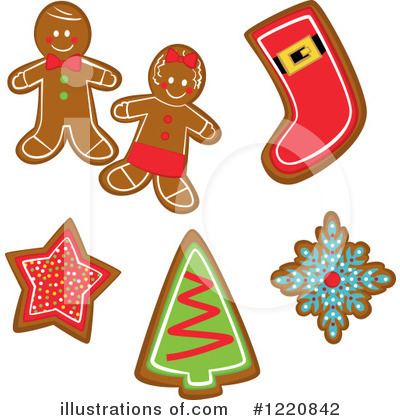 Gingerbread Woman Clipart #1220842 by peachidesigns