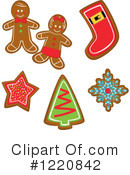 Gingerbread Cookie Clipart #1220842