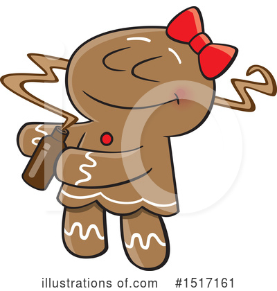 Gingerbread Woman Clipart #1517161 by toonaday