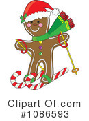 Gingerbread Man Clipart #1086593