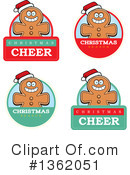 Gingerbread Man Clipart #1362051