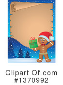 Gingerbread Man Clipart #1370992