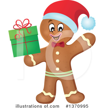Gingerbread Man Clipart #1370995 by visekart